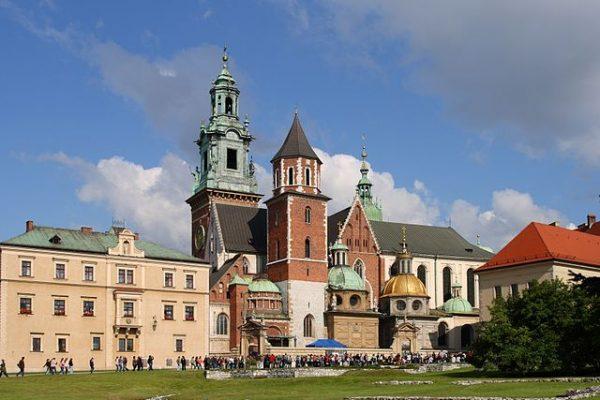 Замок Вавель в Польше