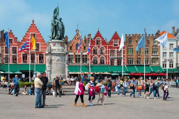 Здания города Брюгге