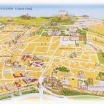Туристическая карта Старого города Иерусалима