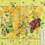 Туристическая карта Иерусалима