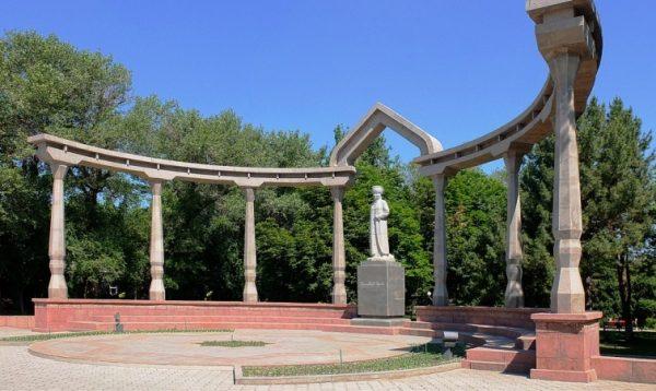 Дубовый парк в Бишкеке