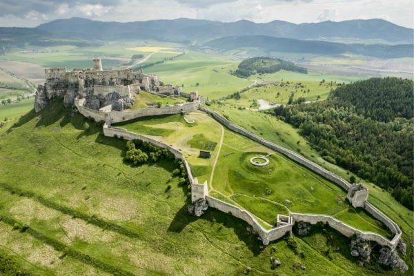 Замок Спишский Град в Словакии