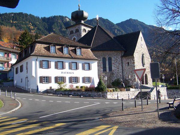 Один из городов Лихтенштейна