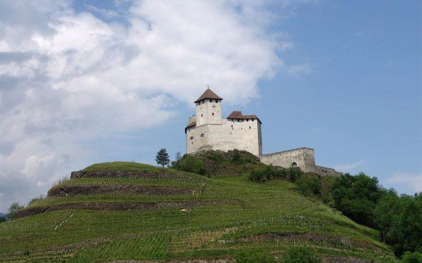 Замок Гутенберг в Лихтенштейне