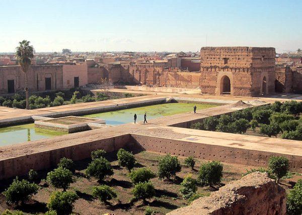 Дворец Эль-Бади в Марракеше