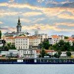 Рассвет в Белграде