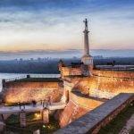 Вид с Белградской крепости на город