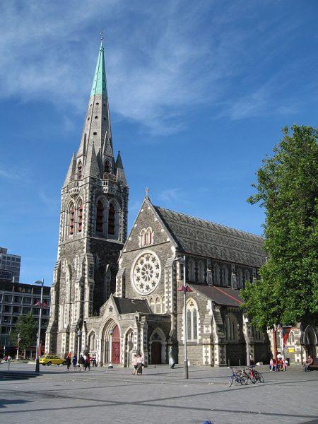 Англиканский кафедральный собор в Крайстчерче