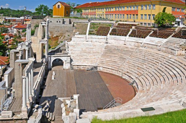 Античный театр в городе Пловдив