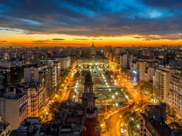 Один из городов Аргентины