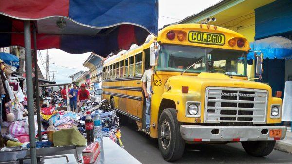 Автобус в Никарагуа