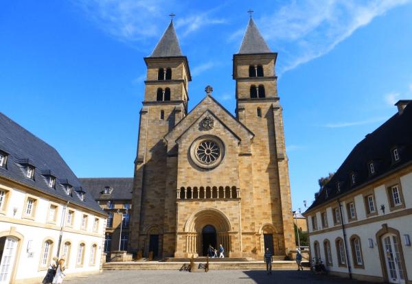 Базилика Св. Виллиброрда (Basilika Iechternach) в Эхтернахе