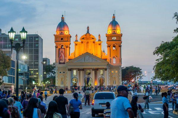 Базилика в городе Маракайбо