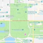 Достопримечательности на карте Вашингтона