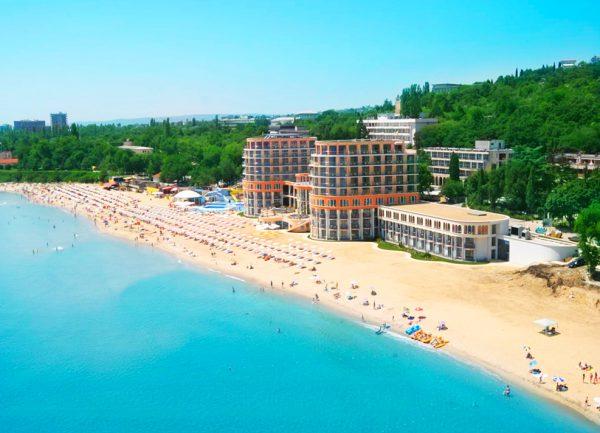 Один из пляжей Болгарии
