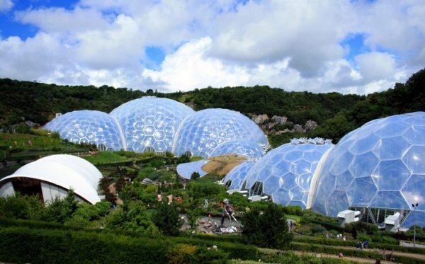 Ботанический сад «Эдем» в Великобритании