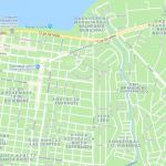 Центр города Сан-Карлос-де-Барилоче на карте