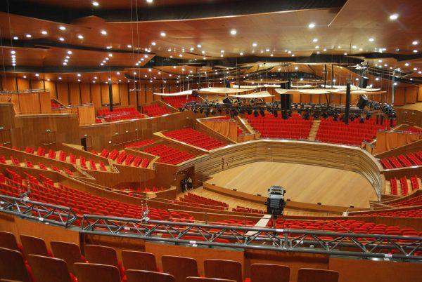 Центральный концертный зал «Казахстан» изнутри