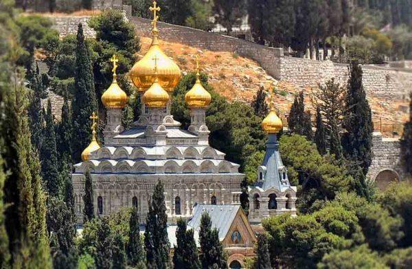 Православная церковь Марии Магдалины в Иерусалиме