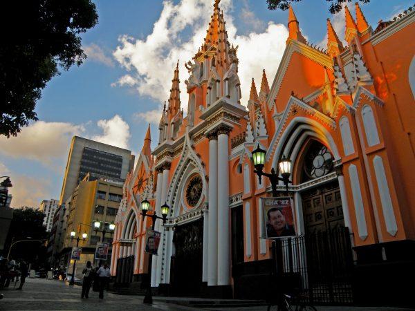 Церковь Санта-Капилья в Каракасе
