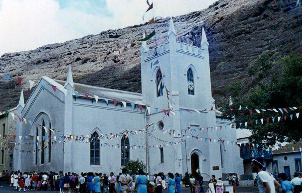 Церковь Св. Джеймса на острове Св. Елены