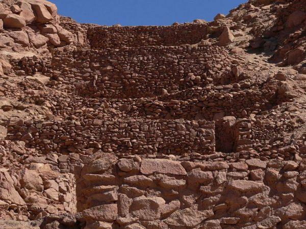 Часть крепости в Пукара-де-Китор