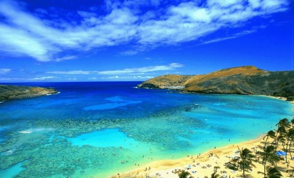 Часть побережья Туниса