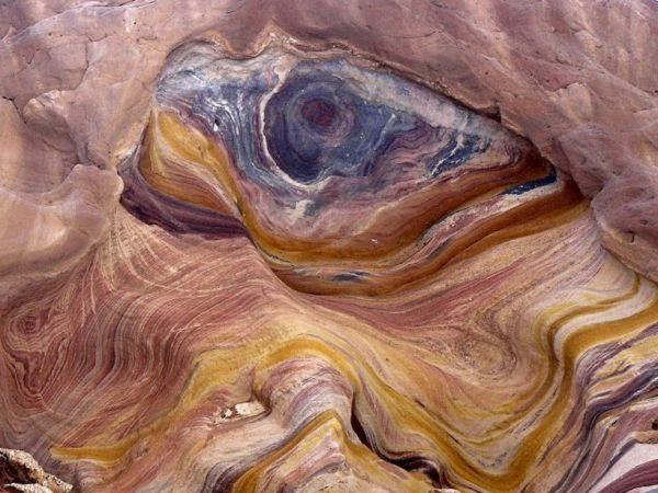Вид Цветного каньона