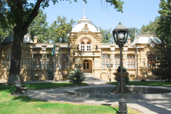 Дворец Николая Романова в Ташкенте