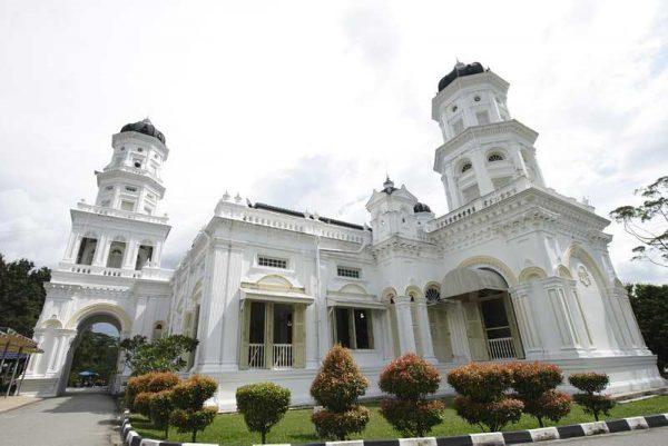 Дворец султана в Джохор-Бару