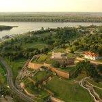 Вид сверху на Белградскую крепость