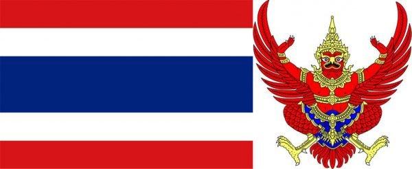 Флаг и герб Таиланда