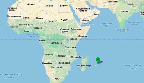Географическое положение Маврикия