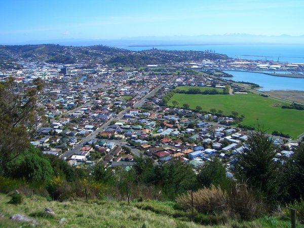 Город Нельсон в Новой Зеландии