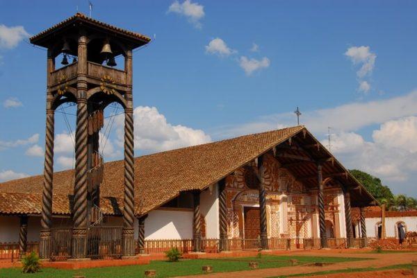 Иезуитские миссии на землях индейцев чикитос в Санта-Крус