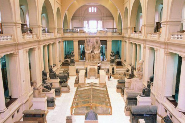 Экспозиция египетского музея