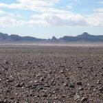 Каменистая пустыня Сахара