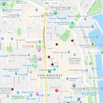 Карта центра Буэнос-Айреса
