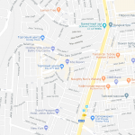Карта центра Джохор-Бару