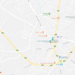 Карта центра города Эль-Джем