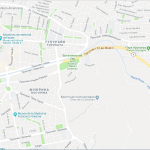 Карта центра города Кочабамба