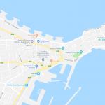 Карта центра города Махдии