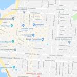 Карта центра Икике