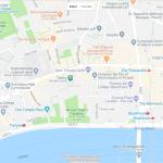 Карта центра Лондона