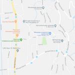 Карта центра Тризена