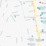 Карта центра Вадуца
