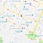 Карта центра Веллингтона