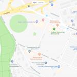 Карта центра Жилины