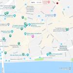Карта центральной части Братислава