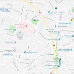 Карта центральной части города Сусса